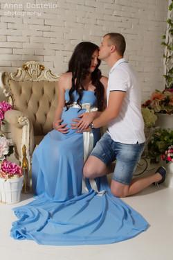 Фотосессия для беременных Студийная фотосессия