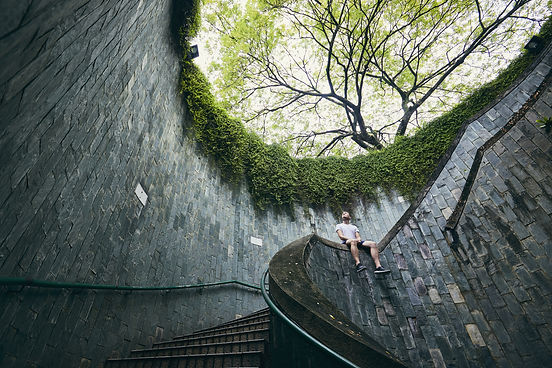 lonely-man-on-the-spiral-staircase-HC632