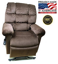Irvine lift chair electric power recleiner lounger