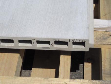 押出し整形セメント板