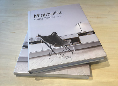 """Minimalist Living Spaces"" images publishing社"