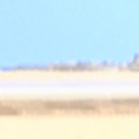 Salt flat (Building edge zoom)