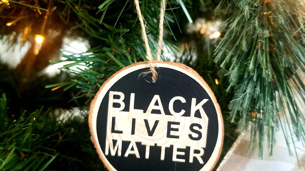 Black Lives Matter Ornament Standard