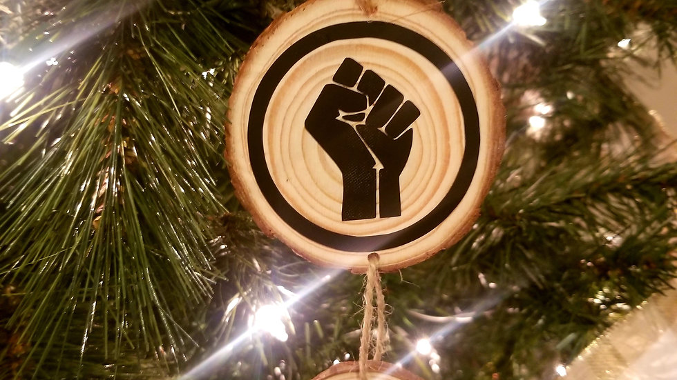 Black Lives Matter Ornament