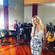 Gravacao de audio ao vivo em estudio