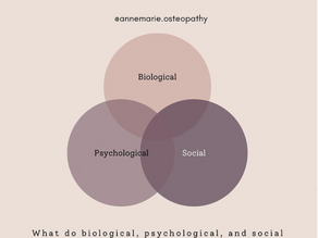 What is the Biopsychosocial Model and what does it have to do with pain?