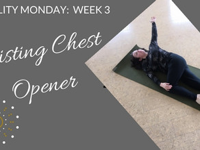 A new twist on the chest stretch