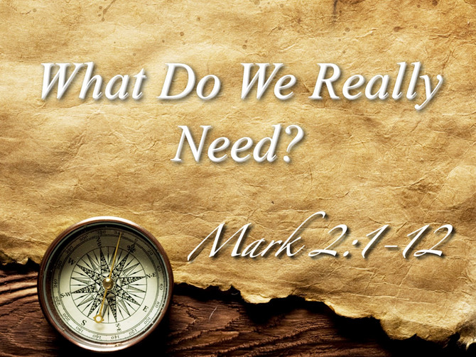 What Do We Really Need?