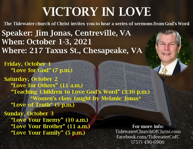 Gospel Meeting Time: Jim Jonas