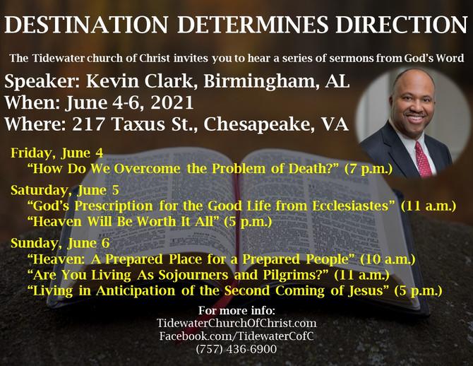 Gospel Meeting Time: Kevin Clark