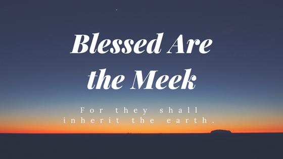 Meekness: Strength Under Control