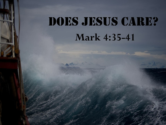 Yes, Jesus Cares