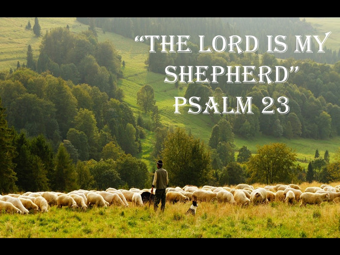 'The Lord is My Shepherd'