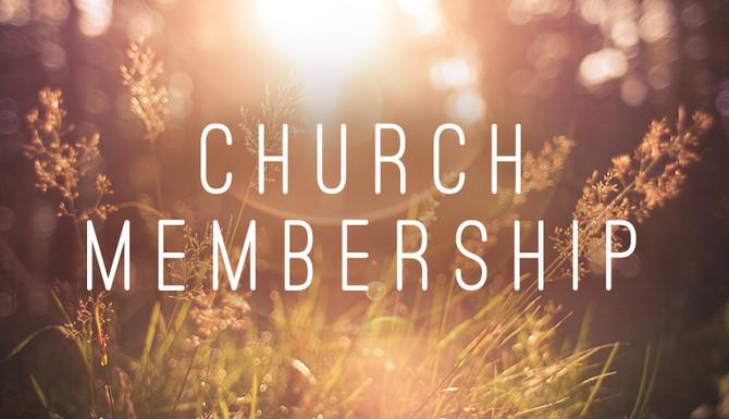 The Value of Church Membership