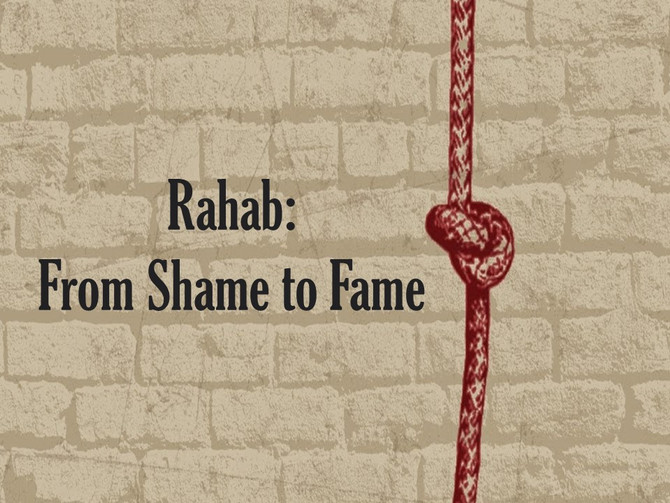 Rahab: From Shame to Fame