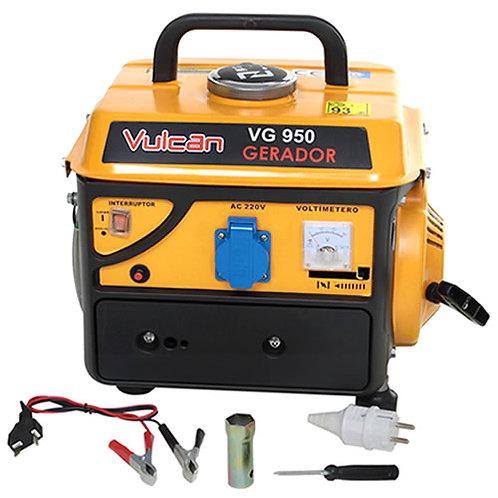 Gerador De Energia A Gasolina 2t 950w Vulcan 220v