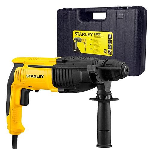 Martelete Perfurador Romp Sds Plus 800w Shr263k 110 ou 220v Stanley