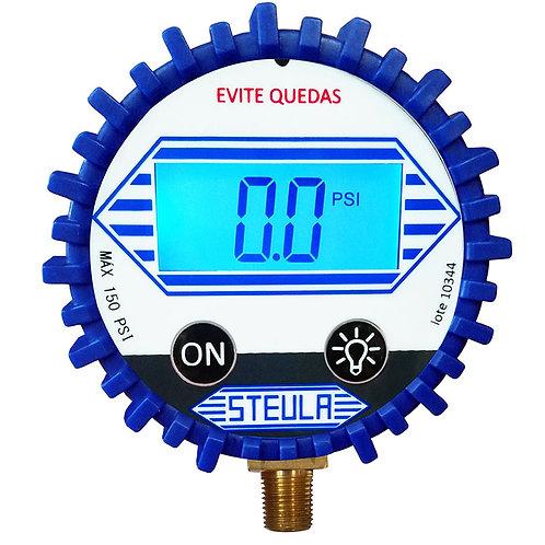Manômetro Digital 150 Psi Para Calibrador Dig1 Dig2 Steula