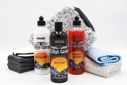 Willy's Wash Kit 8 Piece