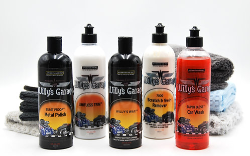Premium Detail Kit 11 piece