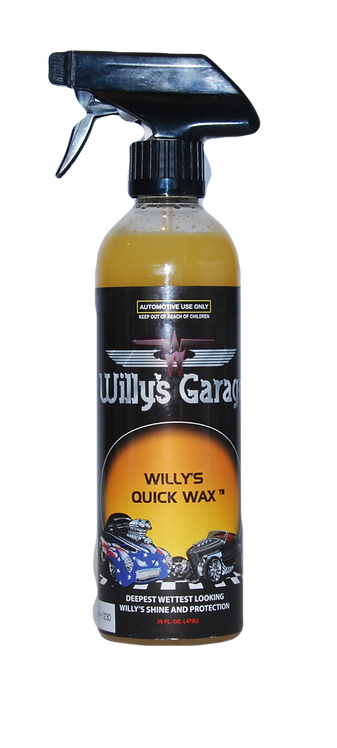 Willy's Quick Spray On Wax 473ml