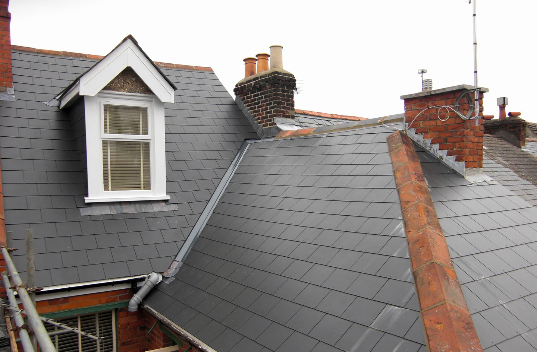 Eternet slate roof