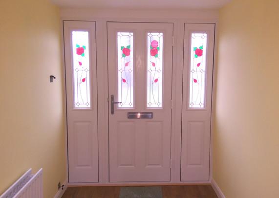 Composite door combo