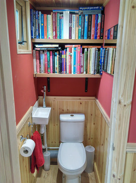 Every 'man shed' needs a toilet!