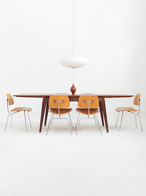 Teak Dining Table with Extension Leaves
