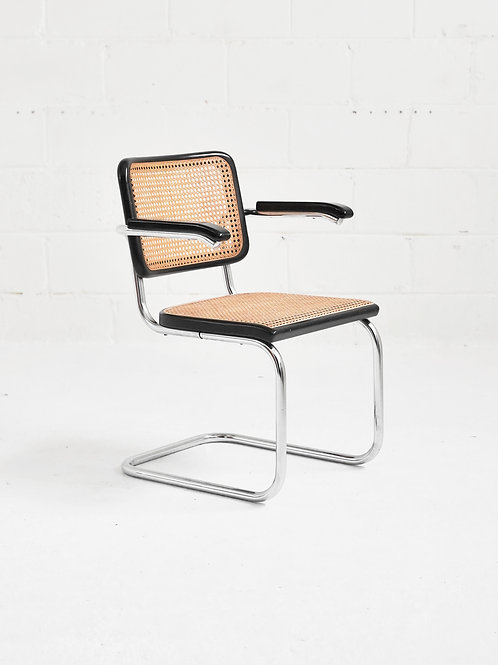 Set of 4 S 64 V Cantilever Dining Chairs by Marcel Breuer for Thonet