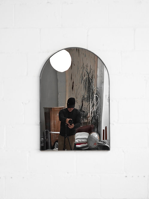 Vintage Wall Mount Arched Mirror