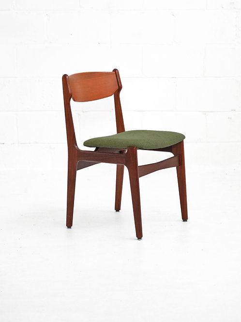 Set of 4 Danish Teak Dining Chairs for Findahls Møbelfabrik A/S