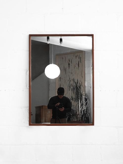 Teak Mirror for R. Huber Co.
