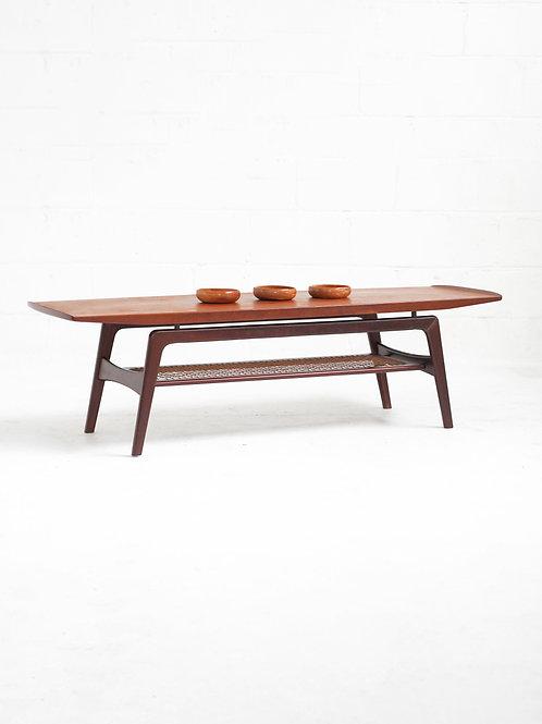Danish Teak Coffee Table by Arne Hovmand Olsen for Mogens Kold