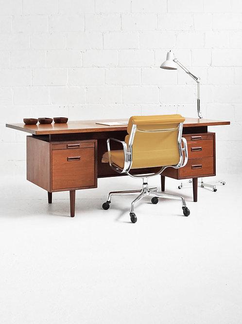 Teak Executive Desk for R. S. Associates