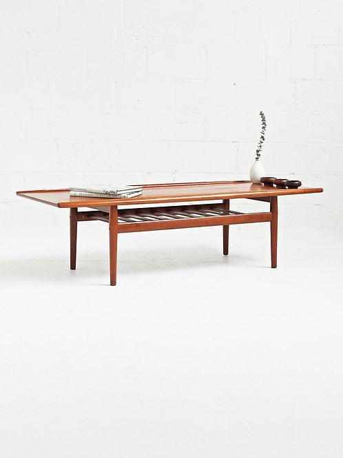 Danish Teak Coffee Table by Grete Jalk for Glostrup Møbelfabrik