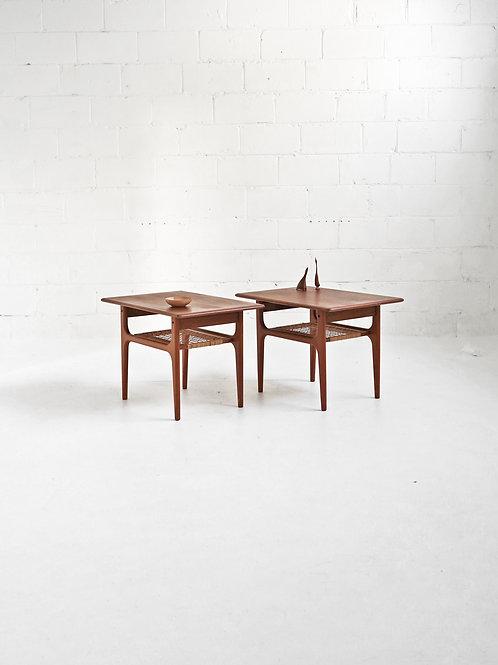 Pair of Teak Side Tables for Trioh