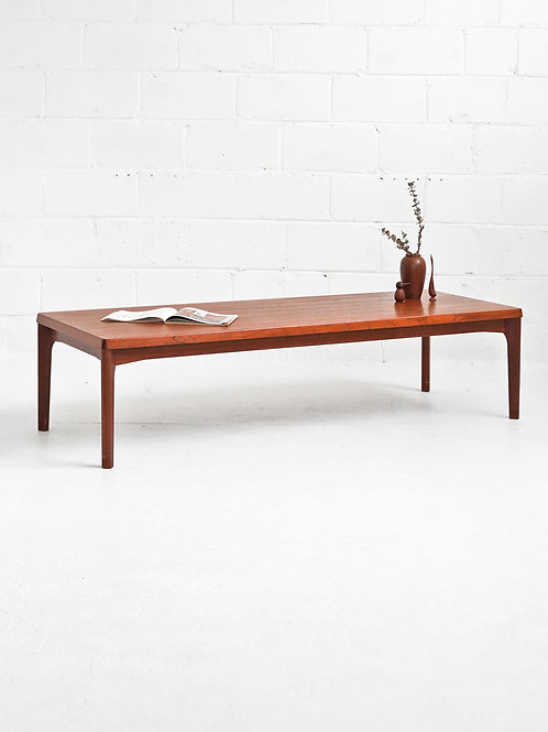 Danish Teak Coffee Table by Henning Kjaernulf for Vejle Stole