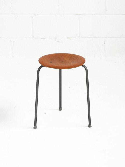 Dot Stool in the style of Arne Jacobsen for Fritz Hansen