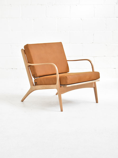 Beech 2315-C Lounge Chair by Adrian Pearsall for Craft Associates