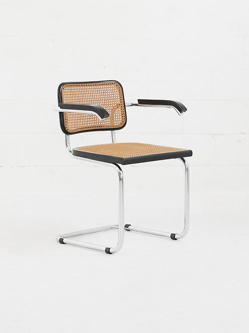 Vintage Cesca Arm Chair in the style of Marcel Breuer