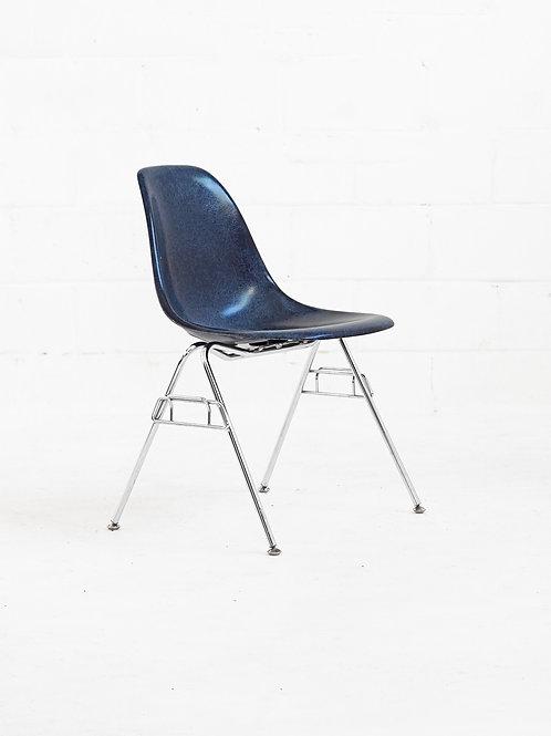 Eames Molded Fiberglass Stacking Chair for Modernica - Indigo