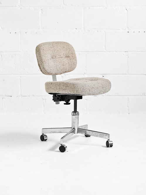 Vintage Rolling Desk Chair for GSC