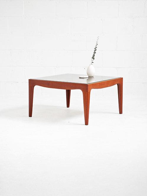Danish Teak Square Coffee Table by Johannes Andersen for Uldum Møbelfabrik