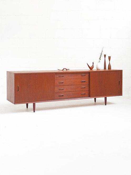 Danish Teak 4 Drawer Sideboard