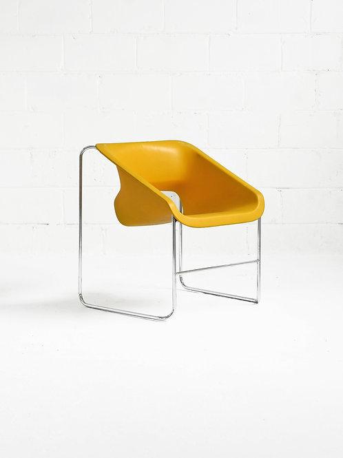 Lotus Chair in Yellow by Paul Boulva for Artopex