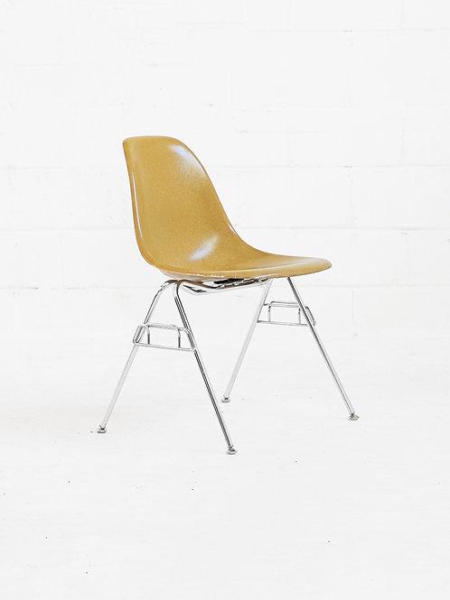 Eames Molded Fiberglass Stacking Chair for Modernica - Mustard