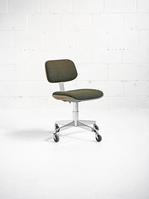Vintage Rolling Desk Chair for Steelcase