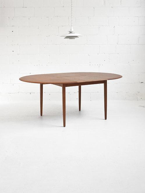 Danish Teak MK216 Dining Table by Arne Hovmand-Olsen for Mogens Kold