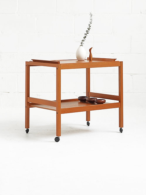 Danish Teak Bar Cart for BL Møbler